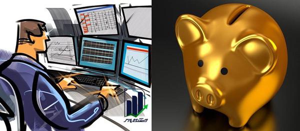 مقایسه بورس و بانک